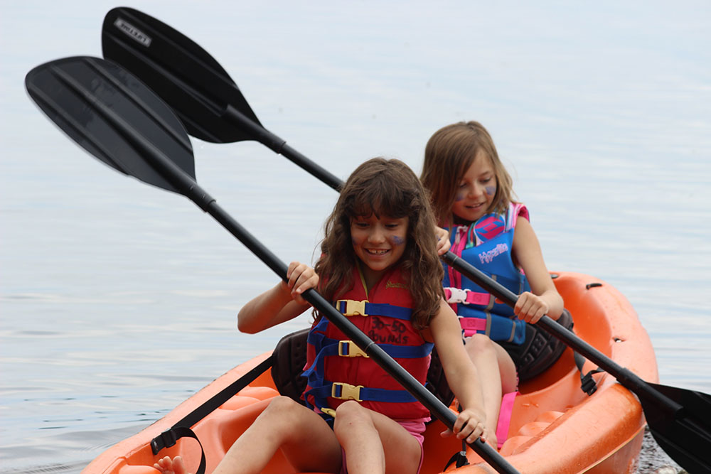 BSC – kayaking girlsL